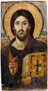 Sinai Icon of Jesus