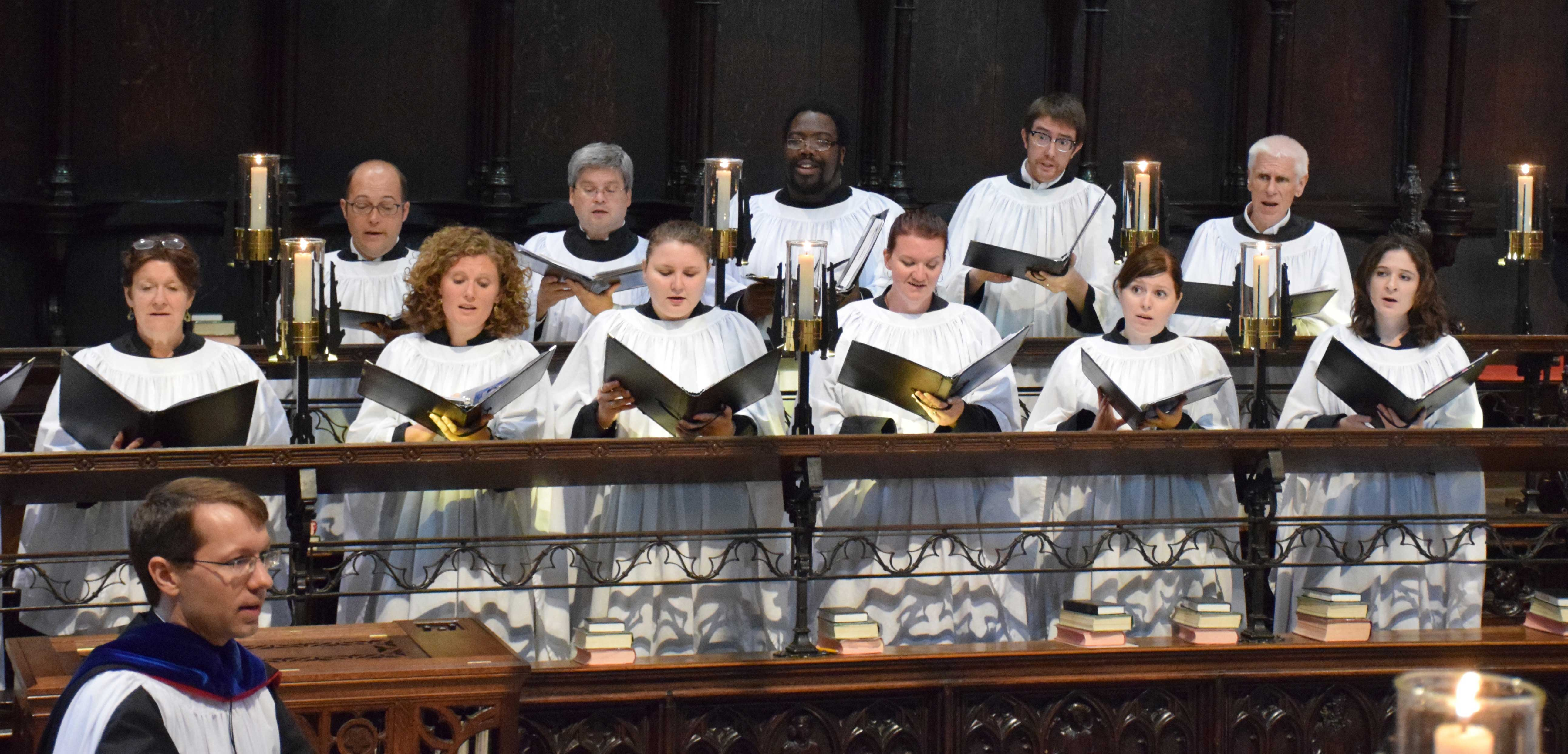 Saint Mark's Choir at Lincoln Cathedral